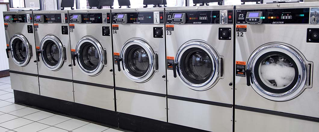 We provide affordable machines to wash all your clothes